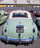 经典之作1948年克莱斯勒汽车 免版税库存照片