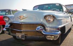 经典之作1956年卡迪拉克汽车 免版税库存照片