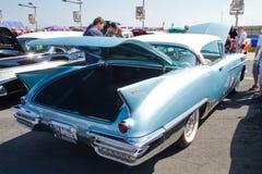经典之作1958年卡迪拉克汽车 库存图片
