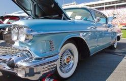 经典之作1958年卡迪拉克汽车 免版税库存照片