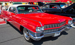 经典之作1964年卡迪拉克汽车 免版税库存图片