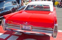经典之作1964年卡迪拉克汽车 免版税库存照片