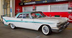 经典之作1959年德索托汽车 免版税图库摄影