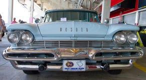 经典之作1959年德索托汽车 免版税库存图片