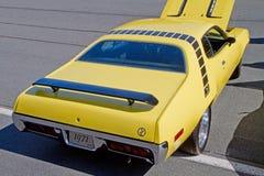 经典之作1971年普利茅斯走鹃汽车 库存照片