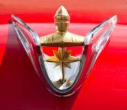 经典之作1956年林肯汽车 免版税库存图片
