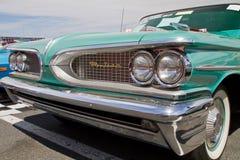 经典之作1959年比德汽车 免版税库存照片
