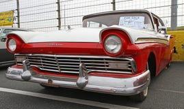 经典之作1957年福特汽车 库存照片