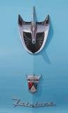 经典之作1956年福特汽车 免版税库存照片