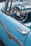 经典之作1956年福特汽车 库存照片