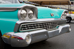 经典之作1959年福特汽车 库存照片