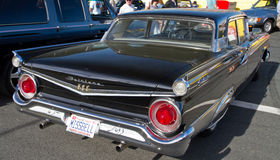 经典之作1959年福特汽车 库存图片