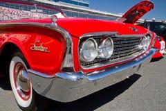 经典之作1960年福特汽车 免版税库存图片