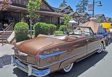 经典之作1951年福特 免版税库存照片