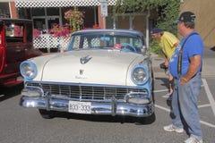 经典之作1957年福特Fairlane 库存照片