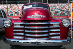 经典之作1947年雪佛兰卡车 库存图片