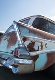 经典之作1957年雪佛兰小型客车 库存图片