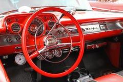 经典之作1957年雪佛兰汽车 免版税库存图片