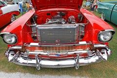 经典之作1957年雪佛兰汽车 库存图片