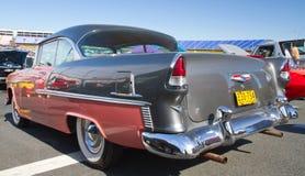 经典之作1955年雪佛兰汽车 免版税库存图片