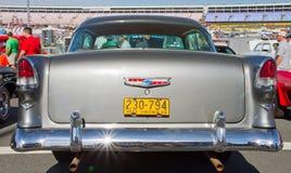 经典之作1955年雪佛兰汽车 免版税库存照片