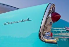 经典之作1956年雪佛兰汽车 库存图片