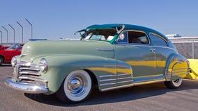 经典之作1948年雪佛兰汽车 免版税图库摄影