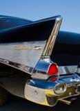经典之作1957年雪佛兰汽车 免版税库存照片