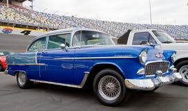 经典之作1955年雪佛兰汽车 库存图片
