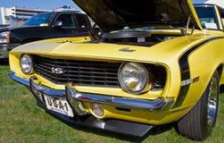 经典之作1969年雪佛兰Camaro汽车 库存图片