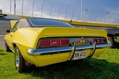 经典之作1969年雪佛兰Camaro汽车 免版税图库摄影