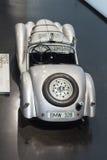 经典之作1936 BMW 328被显示在BMW博物馆在慕尼黑 库存照片