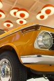 经典之作1968 BMW 2002年钛被显示在BMW博物馆在慕尼黑 免版税图库摄影