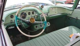经典之作1955年DeSoto汽车 库存照片