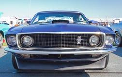 经典之作1969年Ford Mustang汽车 库存图片