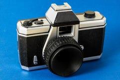 经典之作35mm塑料玩具照片照相机 库存照片