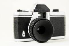 经典之作35mm塑料玩具照片照相机 免版税库存照片