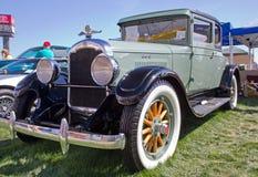 经典之作1928 REO汽车 免版税库存图片