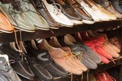 经典人鞋子 免版税图库摄影