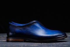 经典人` s鞋子 库存照片