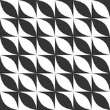 经典几何背景 模式无缝的向量 免版税库存照片