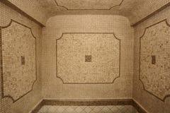 经典卫生间陶瓷马赛克瓦片墙壁 库存图片