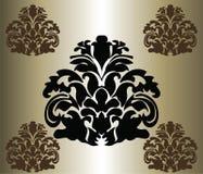 经典原始的皇家锦缎装饰品 图库摄影