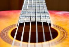 经典吉他 免版税库存照片
