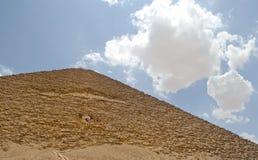 典型埃及的金字塔 免版税图库摄影