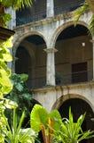 典型大厦的古巴人 库存照片