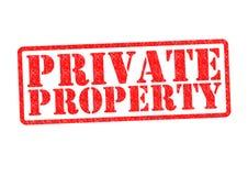 典型忠告意大利的私有财产 库存图片