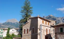 典型房子的majorca 免版税库存图片