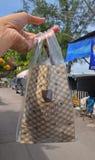 典型拿走泰国咖啡 库存图片