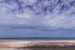 典型海滩 免版税库存图片